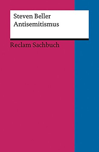 Antisemitismus (Reclams Universal-Bibliothek)
