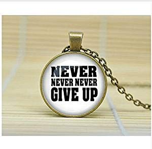 ve Up Halskette, inspirierender Schmuck, I Can Do Hard Things Halskette, Survivor-Halskette ()