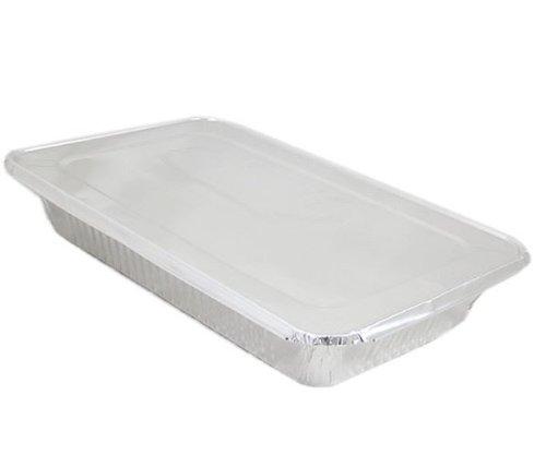 20 Extra Large Cooking/Baking/Serving Foil Tray 52Cm X 32Cm 8Cm & Foil Lid