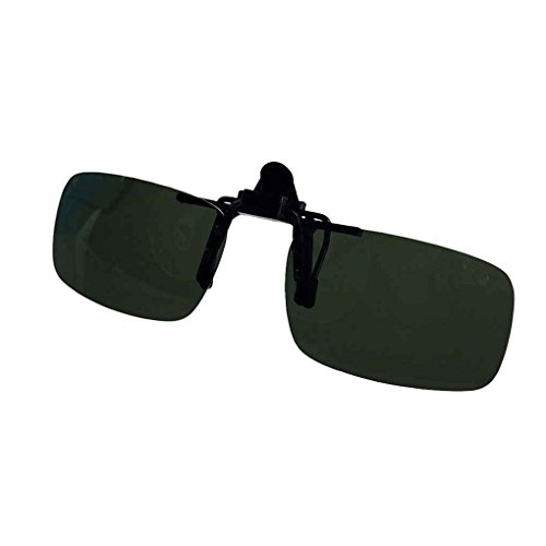Minzhi Brillen polarisierten Klipp auf Flip Up Fahren Sonnenbrille