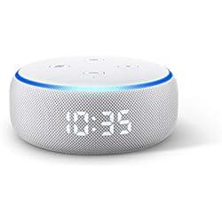 Echo Dot (3. Gen.) – smarter Lautsprecher mit Uhr und