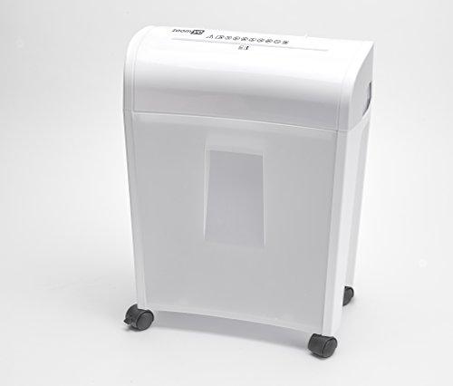 zoomyo-aktenvernichter-papiershredder-pbs-14-weiss-inkl-auffangbehalter-sicherheitsstufe-4-partikel-