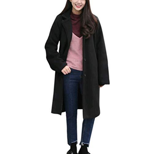 Tonsee  Femmes Veste, Mode Warmful Veste Chaude Épaisse Casual Outwear Parka Cardigan Slim Manteau Pardessus