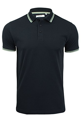 Xact Mens Short Sleeved Twin Tipped Pique Polo T-Shirt