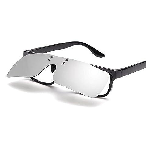 Liyongdong Brille Polarisiert Sonnenbrille Sonnenbrille Eine Wind-Sand Körper Klemme 2Pcs