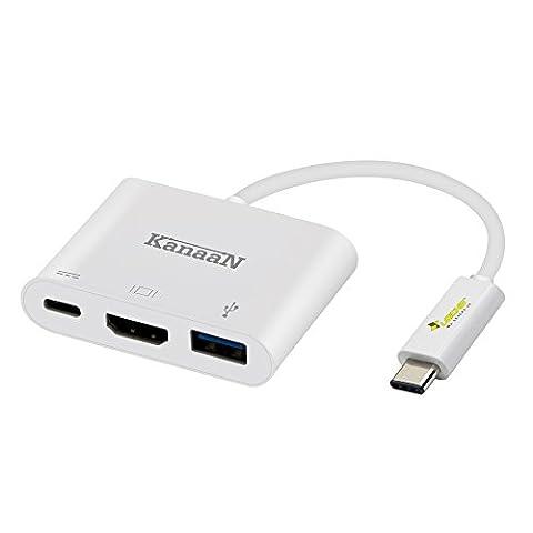 KanaaN USB-C Multiport Digital HDMI Adapter | Anschlüsse für HDMI
