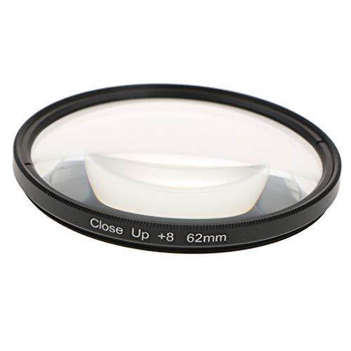 Baoblaze 55/62/67/72/77mm Makro Close-up Filter + 8 Nahaufnahme Optische Linse Filter für DSLR Digitalkamera - 62mm