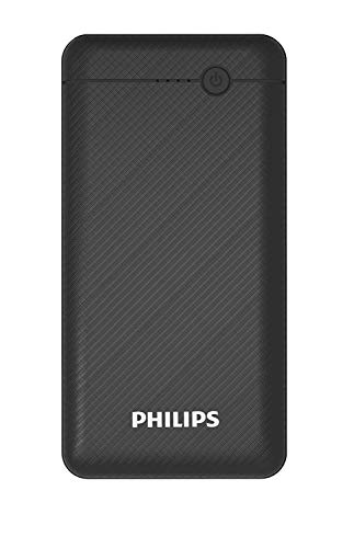 Philips DLP1710CV Fast Charging Power Bank 10000mAh with Lithium Polymer Battery Blue (Twin USB Output Port 3.1A, with Micro USB and Type c Enter) Image 5