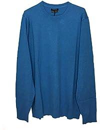 b507dc6fe60a Massimo Dutti Uomo Solid-Coloured Cotton/Silk/Cashmere Sweater 0902/446