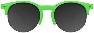 D. Franklin America, Gafas de Sol Unisex, Verde, 50