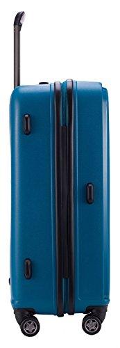 HAUPTSTADTKOFFER® 37 Liter (ca. 55 x 36 x 21 cm) · Handgepäck · F-HAIN · TSA Schloss · in verschiedenen Farben (Schwarz) Blau