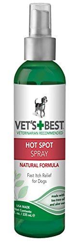 Vet's Best Punto Caliente para Perros Itch Relief Spray   Alivia la...