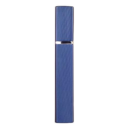 MerssavoNachfüllbarer Parfüm-Zerstäuber-Flaschen-Reise-Geruch-Pumpen-beweglicher Spray-Fall 12 ML Blau Reisende Parfüm