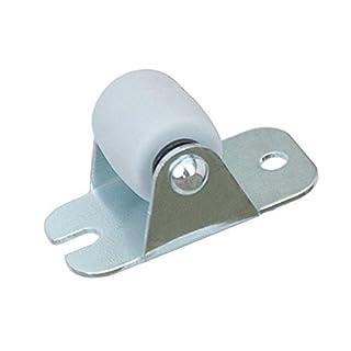 KeyMet GmbH Möbelrollen Gr. 16 mm Lenkrollen Blockrollen Laufrollen Rollen Möbel-Bockrolle