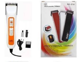 Combo of 216-Rechargeable Trimmer & Professional Electric Hair Beard Trimmer Machine (Nhc-3663) (2pc combo)