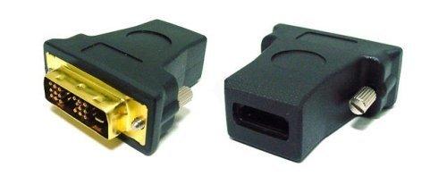Adattatore DVI HDMI con contatti oro, maschio, femmina
