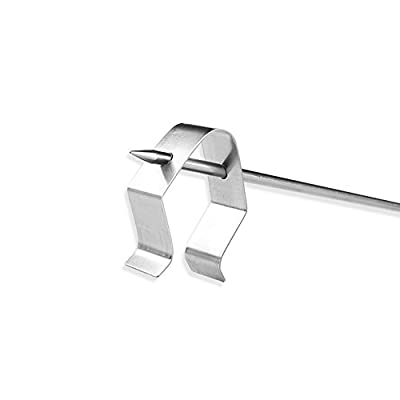 Inkbird 2* A Typ Thermometer Temperaturfühler Clip Halter für BBQ, Raucher, Ofen, Grill Temperatur Monitor