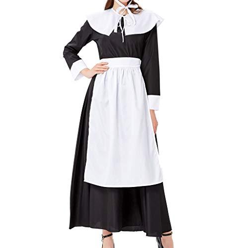 Allence Oktoberfest Damen Kleider Dirndl Kleid Bayerische Bar Maid Party Cosplay Dirndl Traditionelles Minikleid Oktoberfest Karneval KostüM 4 Teilig Set (Bar Maid Kostüm Übergröße)