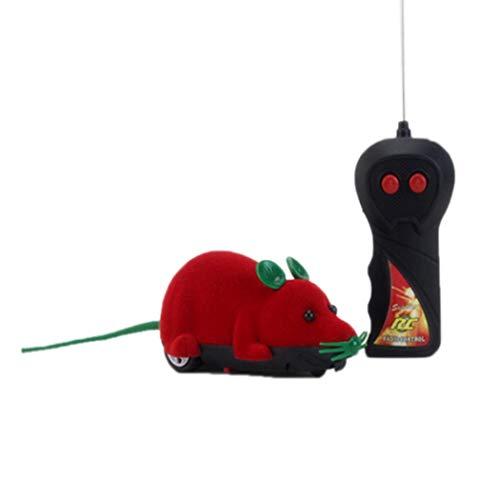 SummerRio Control Remoto Inalámbrico Simulación Ratón eléctrico Juguete Mascotas Gatos Juego Mascotas