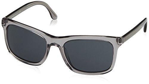 Giorgio Armani Herren AR8066 Sonnenbrille, Grau (Grey 502987), One size (Herstellergröße: 56)