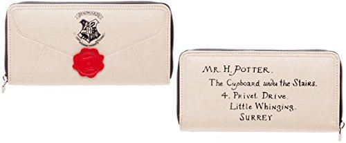 Le lettere ufficiali ufficiali di Harry Potter Letter Zip intorno al portafoglio della borsa