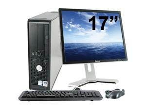 Dell Optiplex 780 SFF + Ecran 17'' - Ordinateur de bureau - Gris (Intel Core Duo E5400 / 2,70 GHz, 4 Go de RAM, disque dur 2 To, graveur DVD, Windows 7 Professionnel)