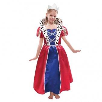 Mädchenkostüm Königin 6 - 8 - Königliche Hoheit Kostüm