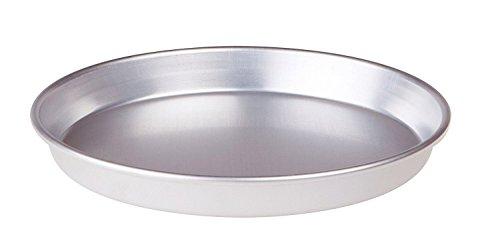 Tortiera conica bassa in alluminio grigio