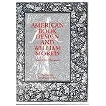 American Book Design and William Morris