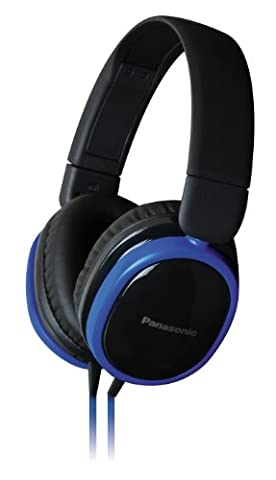 Panasonic Around Ear Headphones with Noise Isolation - Blue