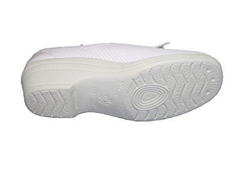 Ganter Renate 9-208047 Damen Schuhe Halbschuhe, Weite G Weiß (Weiß)