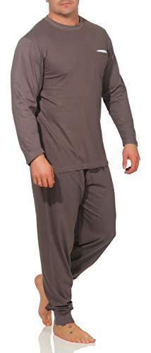 Barete Langer Schlafanzug Oberteil blau Hose Streifen Herren Gr. 50/M Schlafanzug Herren lang herrenschlafanzug Baumwoll Schlafanzug Schlafanzug Herren Schlafanzug Pyjamas