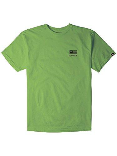 Herren T-Shirt Emerica Pure Flag T-Shirt Neon