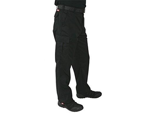 Lee Cooper LCPNT205 Cargo Pant - Arbeitshose (Schwarz, 32/32)