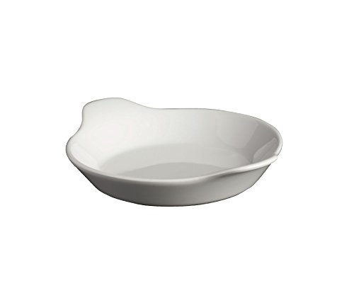 Genware NEV-SPF15-W Royal Round Eared Dish, 15 cm, White (Pack of 6)
