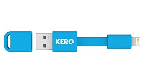 Kero Nomad Apple Lightning to USB Key Ring Cable - Blue