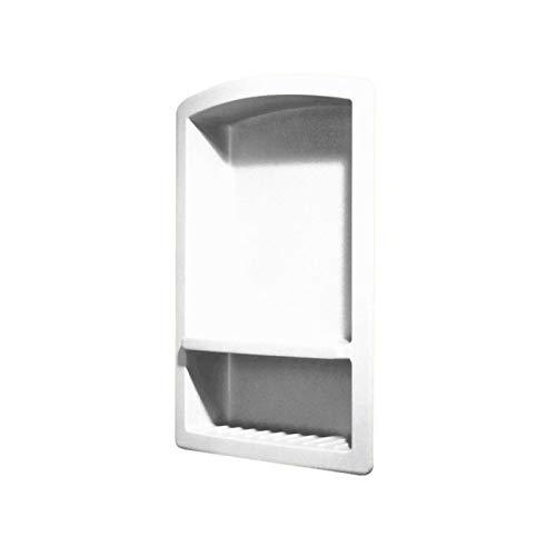 Cisne RS-2215-010 Empotrables Solid Surface Jabonera en Blanco