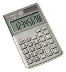 Canon LS-8TCG Calculatrice de poche