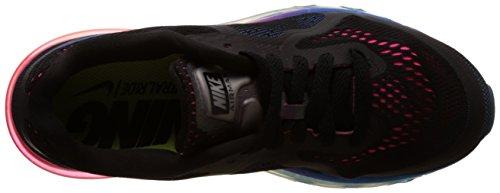 Nike  Air Max 2014, Chaussures de course femme Noir - Noir