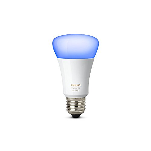 Philips Hue White and Colour Ambiance Wireless lighting 10 W E27 Richer Colours LED Bulb, Works with Alexa Test