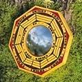Feng Shui - Ba-Gua-Spiegel 15cm konvex von Welten der Mystik auf Spiegel Online Shop