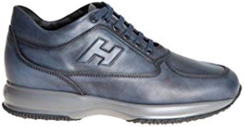 Mr.   Ms. Hogan scarpe da ginnastica Uomo HXM00N090427X7U806 Pelle Blu Reputazione prima Materiale preferito davvero | Buona reputazione a livello mondiale  | Uomo/Donna Scarpa