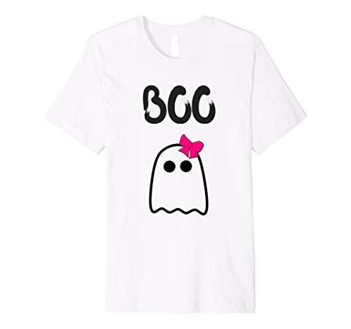Halloween Shirt für Mädchen Cute Ghost Boo Shirt Kinder Kleinkind