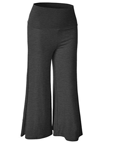 Zkoo donne primavera prua bell bottom delle diritte pantaloni larghi del a gamba larga pantaloni palazzo xl