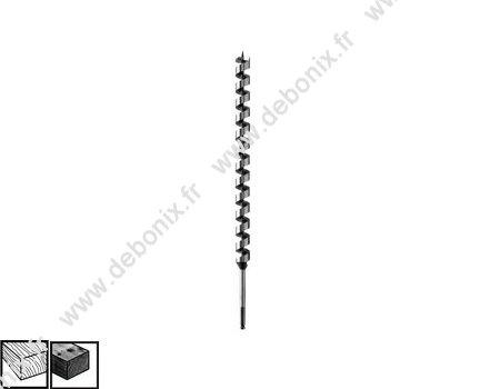 Bosch Professional Holzspiralbohrer (3 mm Zylinderschaft mit 90°-Senker)
