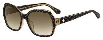 Kate Spade Amberlynn/S Sunglasses-(0Y1JHA) Bwflw Crystal/Brown Gradient-57mm
