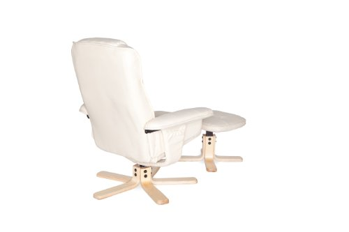 Amstyle Comfort Relaxsessel mit Hocker - 19