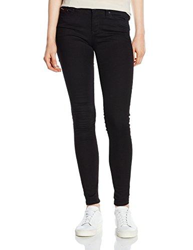 Hilfiger Denim Damen Skinny Jeanshose Mid rise Nora DNBST, Gr. W29/L32, Schwarz (DANA BLACK STRETCH 945) (Jeans Mid-rise)