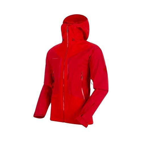 Mammut Herren Hardshell-Jacke Masao Mit Kapuze,  Rot (dark magma), Gr. M - Rot Herren Ski Jacke