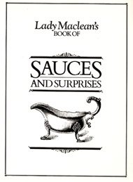 Lady MacLean's Book of Sauces and Surprises